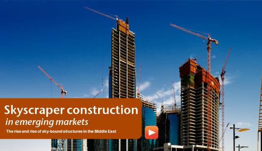 Skyscraper construction in emerging markets middle east for Burj al mamlakah