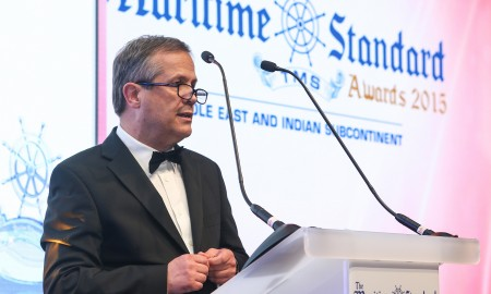 Clive Woodbridge Chairman of the Judging Panel for The Maritime Standard Awards 2016